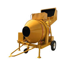 Concrete Mixer – 320L Diesel with Hydraulic Lift